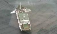 """被困烟台大钦岛海域的""""和航兴隆""""客轮已修复"""